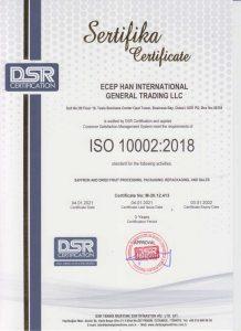 ISO 10002 Customer Satisfaction