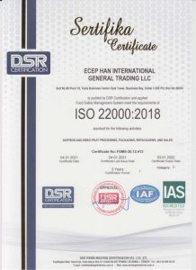 ISO 22000 Food Safety