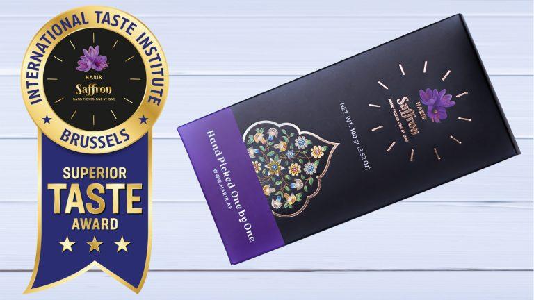 Read more about the article Harir Saffron won Superior Taste Award from International Taste Institute